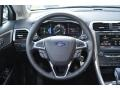 Charcoal Black Steering Wheel Photo for 2013 Ford Fusion #78028305