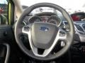 2013 Lime Squeeze Ford Fiesta SE Sedan  photo #17
