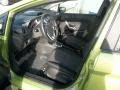 2013 Lime Squeeze Ford Fiesta SE Sedan  photo #18