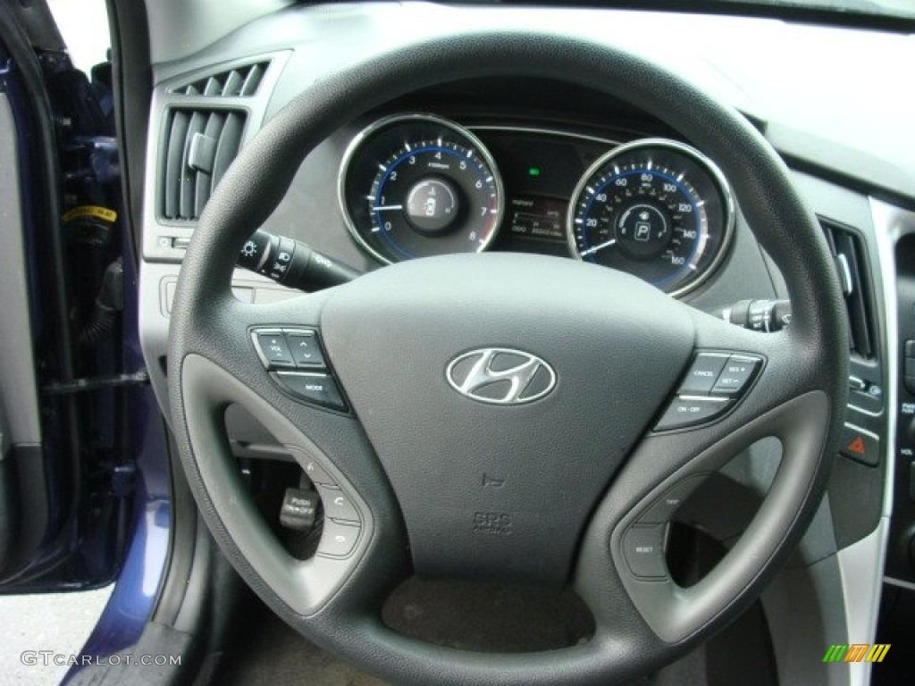 2012 hyundai sonata gls steering wheel photos. Black Bedroom Furniture Sets. Home Design Ideas