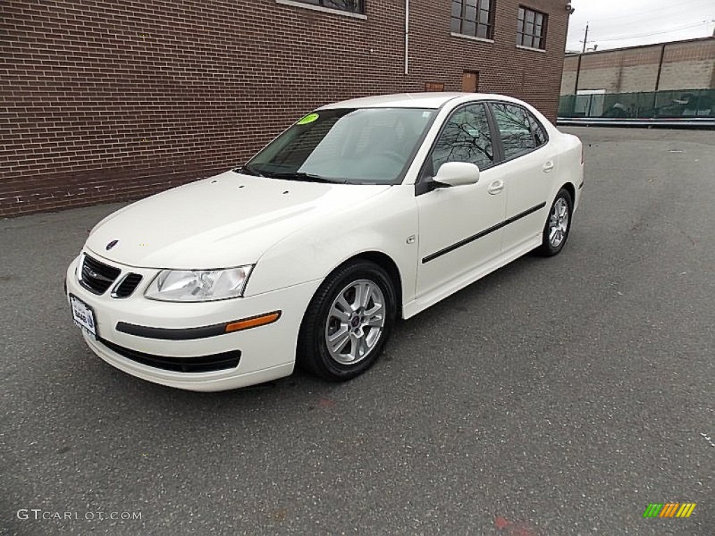 2007 polar white saab 9 3 2 0t sport sedan 78023677. Black Bedroom Furniture Sets. Home Design Ideas