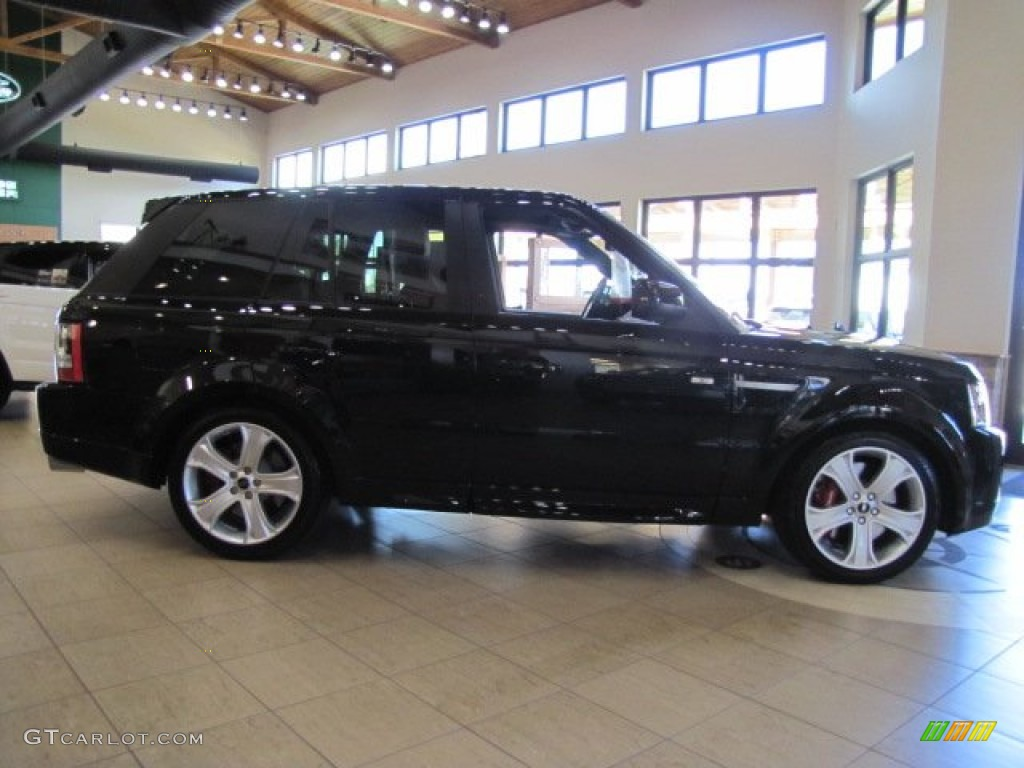 santorini black 2013 land rover range rover sport supercharged exterior photo 78043091. Black Bedroom Furniture Sets. Home Design Ideas