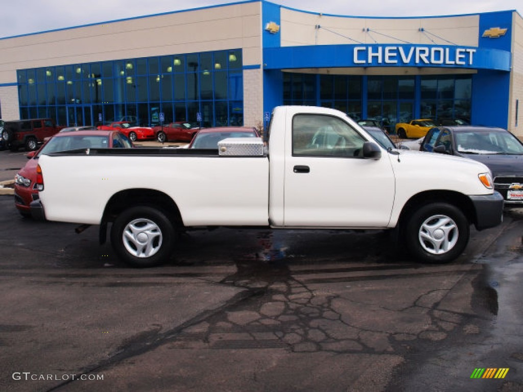 Natural White 2003 Toyota Tundra Regular Cab Exterior
