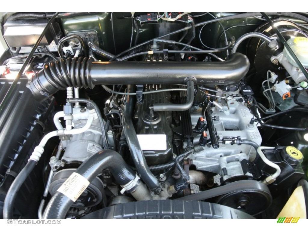 1998 Jeep Wrangler Sahara 4x4 Engine Photos Gtcarlot Com
