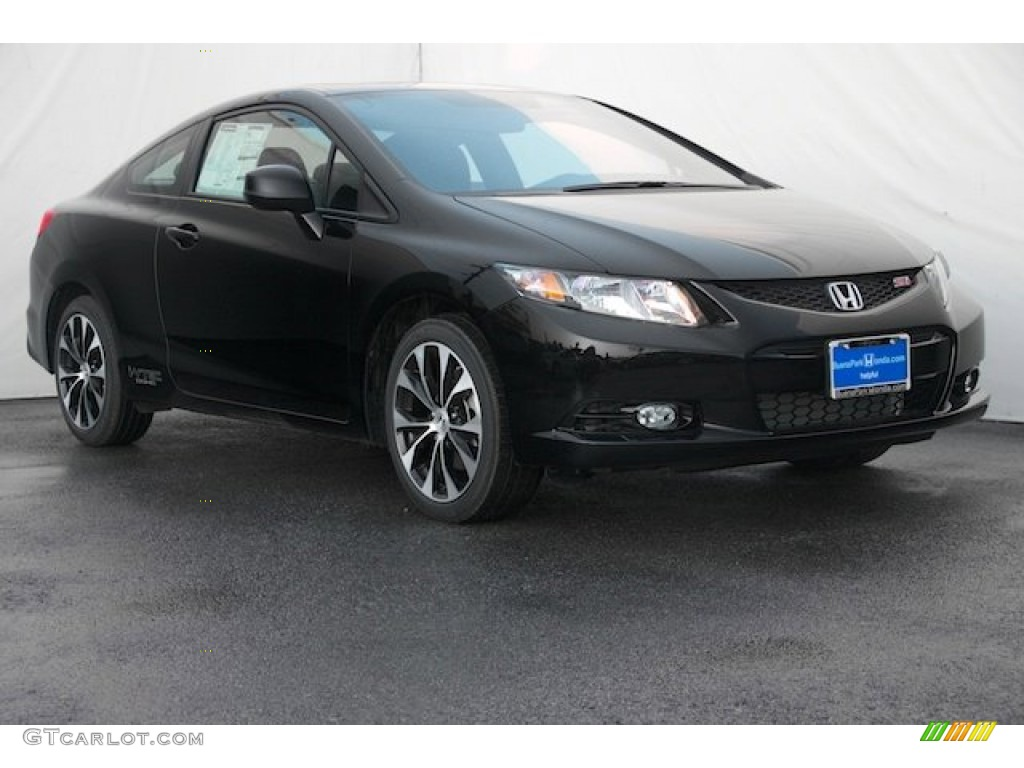 Honda Civic Si 2013 Black 4 Door