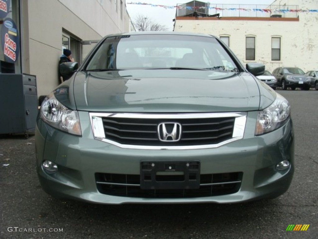 2010 mystic green metallic honda accord ex l v6 sedan 78023656 photo 2 car. Black Bedroom Furniture Sets. Home Design Ideas