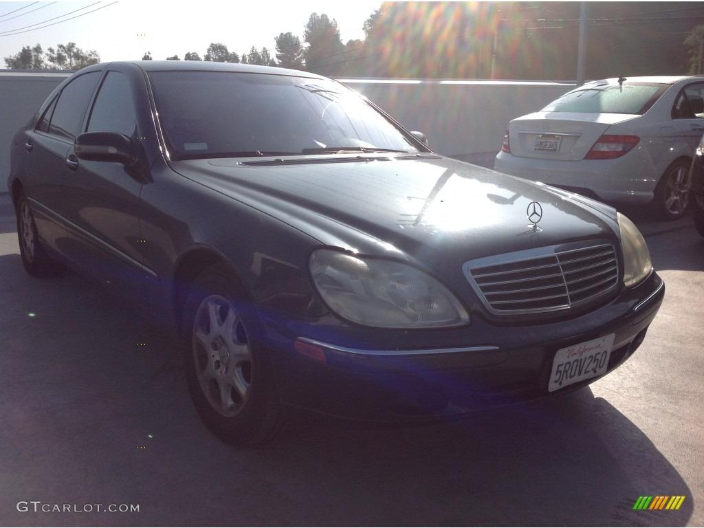2002 black opal metallic mercedes benz s 430 sedan for Mercedes benz s 430