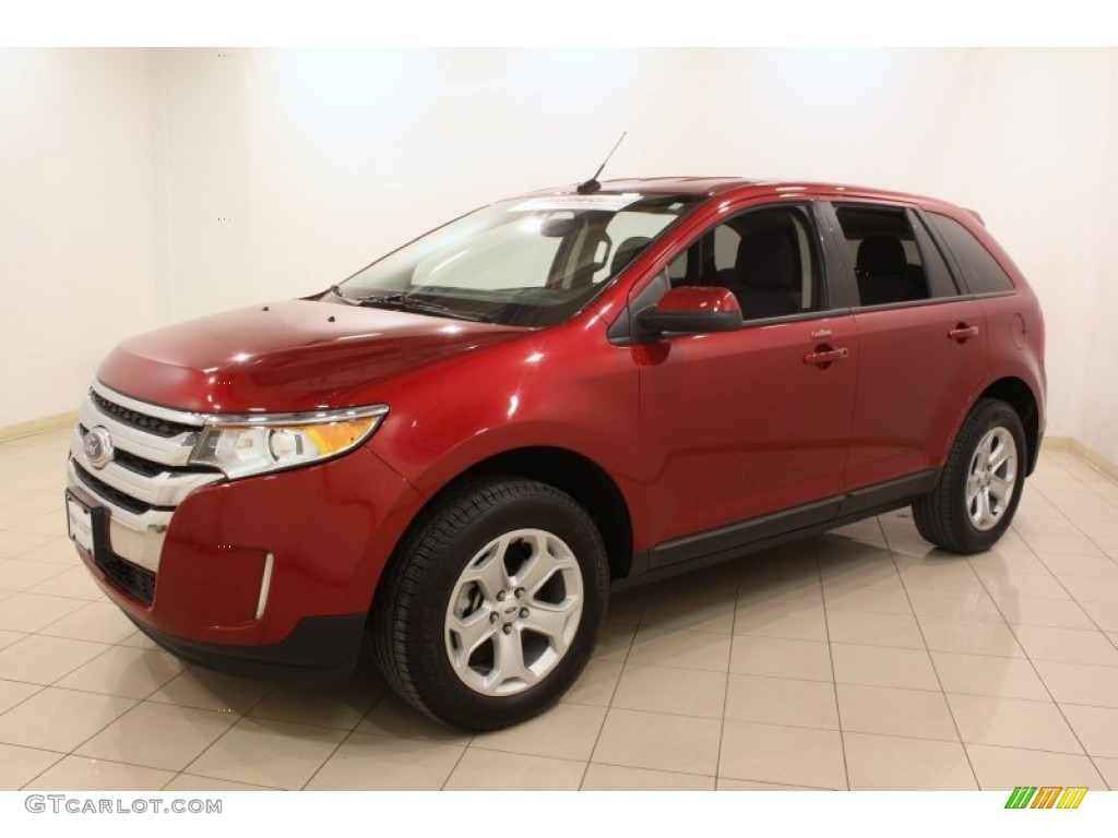 ruby red 2013 ford edge sel awd exterior photo 78060783. Black Bedroom Furniture Sets. Home Design Ideas