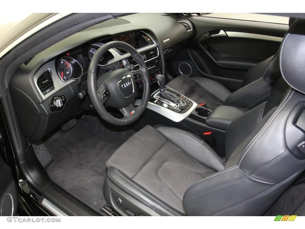 Black Interior 2011 Audi A5 2 0t Quattro Coupe Photo 78060939