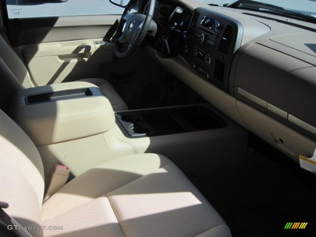 2013 Silverado 1500 LT Crew Cab 4x4 - Fairway Metallic / Light Cashmere/Dark Cashmere photo #5