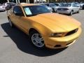 2011 Yellow Blaze Metallic Tri-coat Ford Mustang V6 Coupe  photo #1