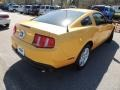 2011 Yellow Blaze Metallic Tri-coat Ford Mustang V6 Coupe  photo #10