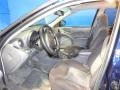 2004 Pontiac Grand Am Dark Pewter Interior Front Seat Photo