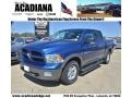 Deep Water Blue Pearl 2011 Dodge Ram 1500 SLT Outdoorsman Crew Cab 4x4