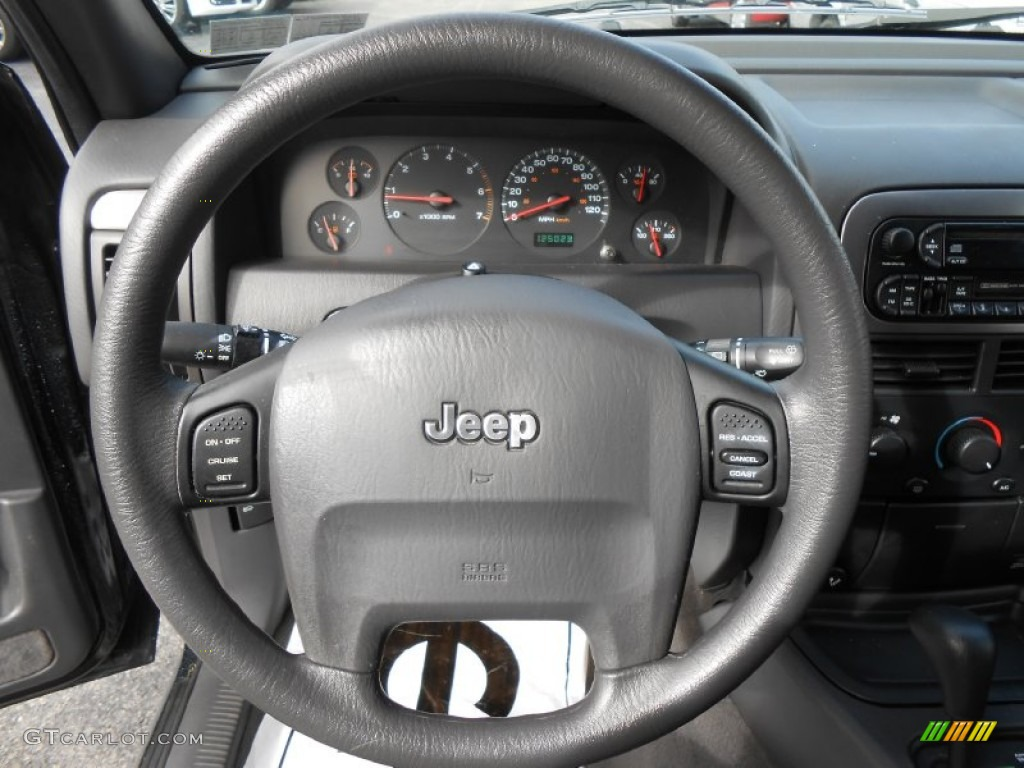 2001 jeep grand cherokee laredo 4x4 steering wheel photos. Black Bedroom Furniture Sets. Home Design Ideas