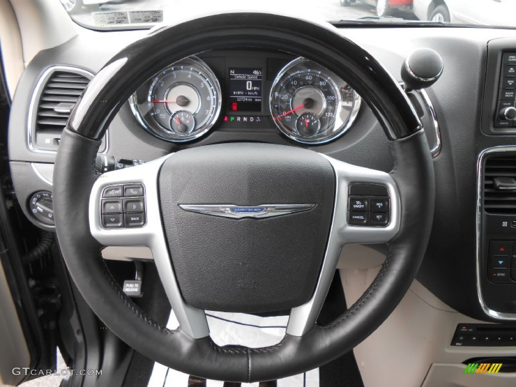 2012 chrysler town country limited steering wheel photos. Black Bedroom Furniture Sets. Home Design Ideas