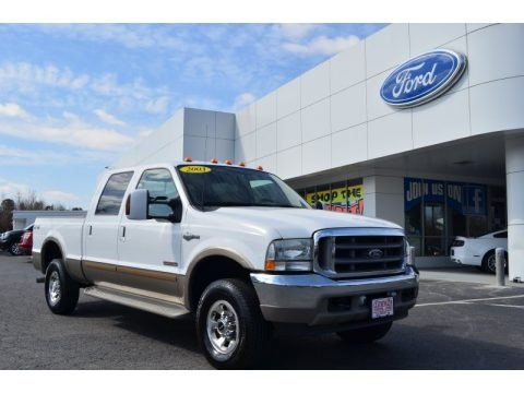 2003 Ford F250 Super Duty King Ranch Crew Cab 4x4 Data, Info and Specs