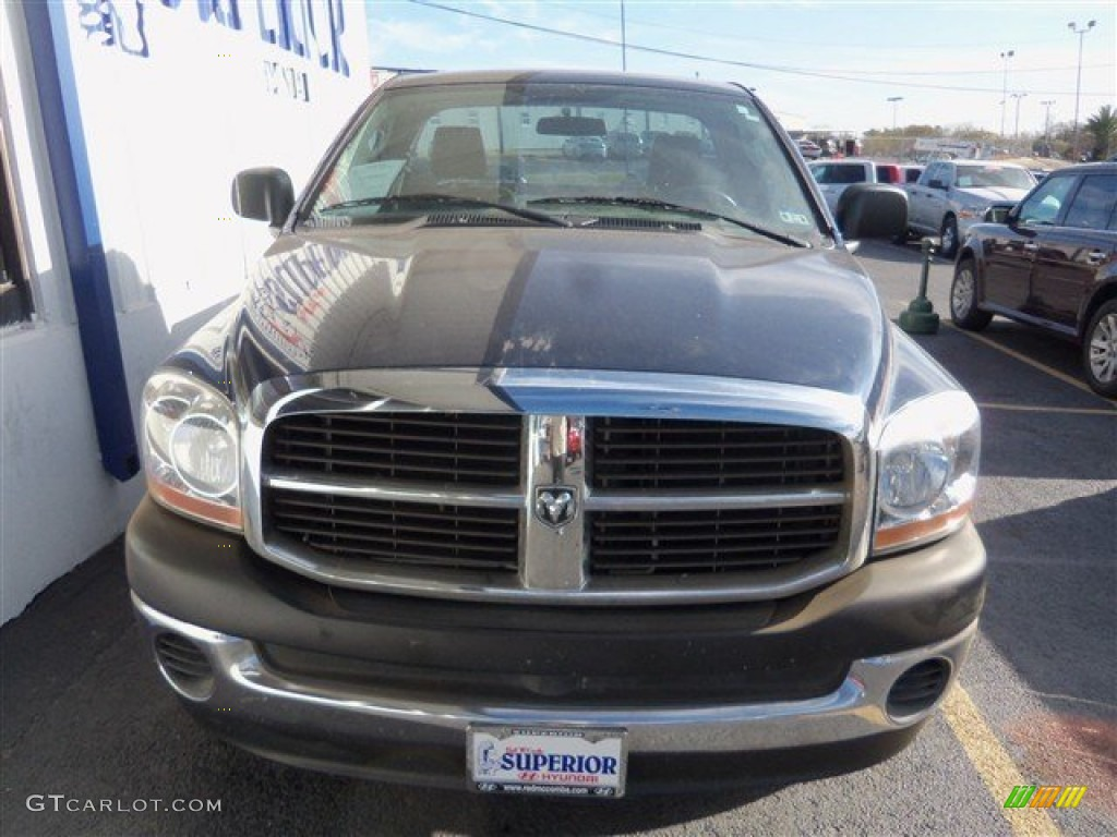 2006 Ram 1500 ST Regular Cab - Patriot Blue Pearl / Khaki Beige photo #1
