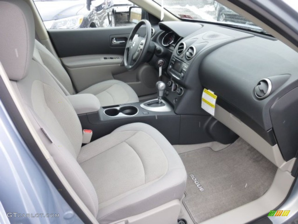 Gray Interior 2013 Nissan Rogue S Special Edition AWD ...