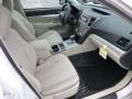 Ivory 2013 Subaru Legacy Interiors