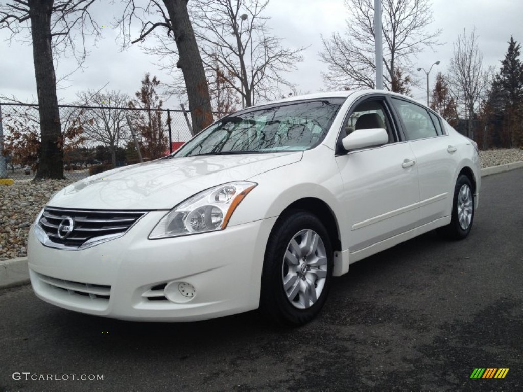 winter frost white 2012 nissan altima 2 5 s exterior photo. Black Bedroom Furniture Sets. Home Design Ideas