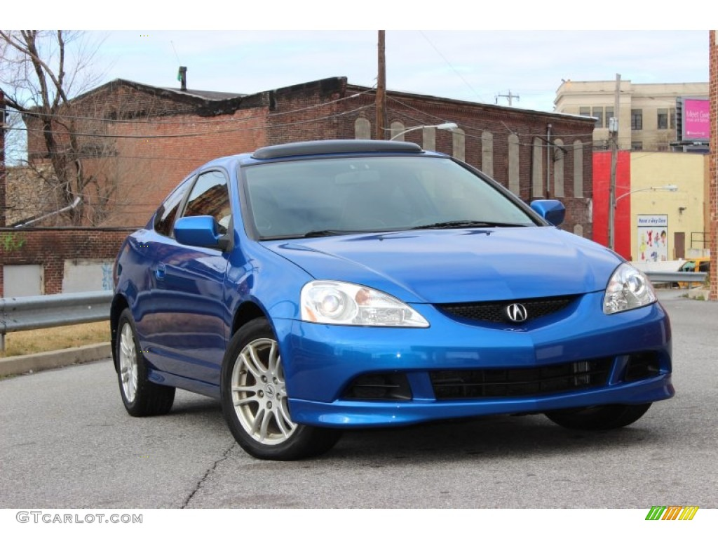 2006 RSX Sports Coupe - Vivid Blue Pearl / Titanium photo #1