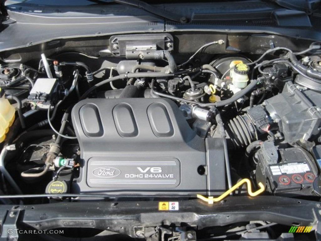 2001 Ford Escape Xlt V6 4wd Engine Photos