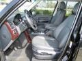 2007 Land Rover Range Rover Charcoal Interior Front Seat Photo