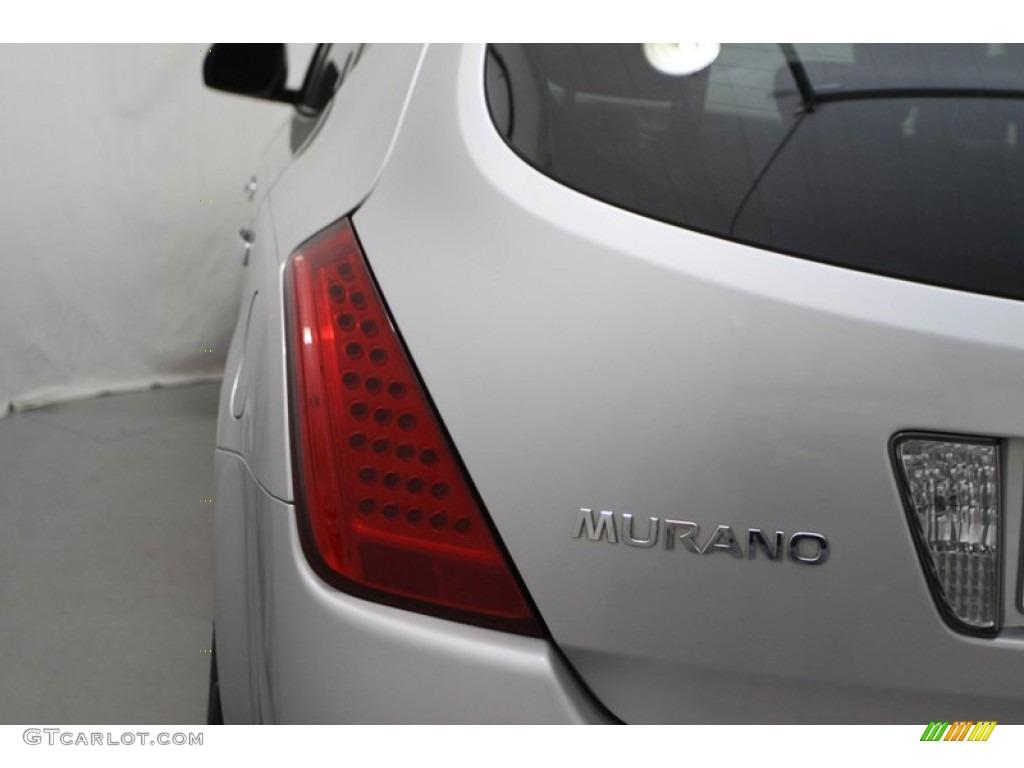 2007 Murano SE AWD - Brilliant Silver Metallic / Charcoal photo #9