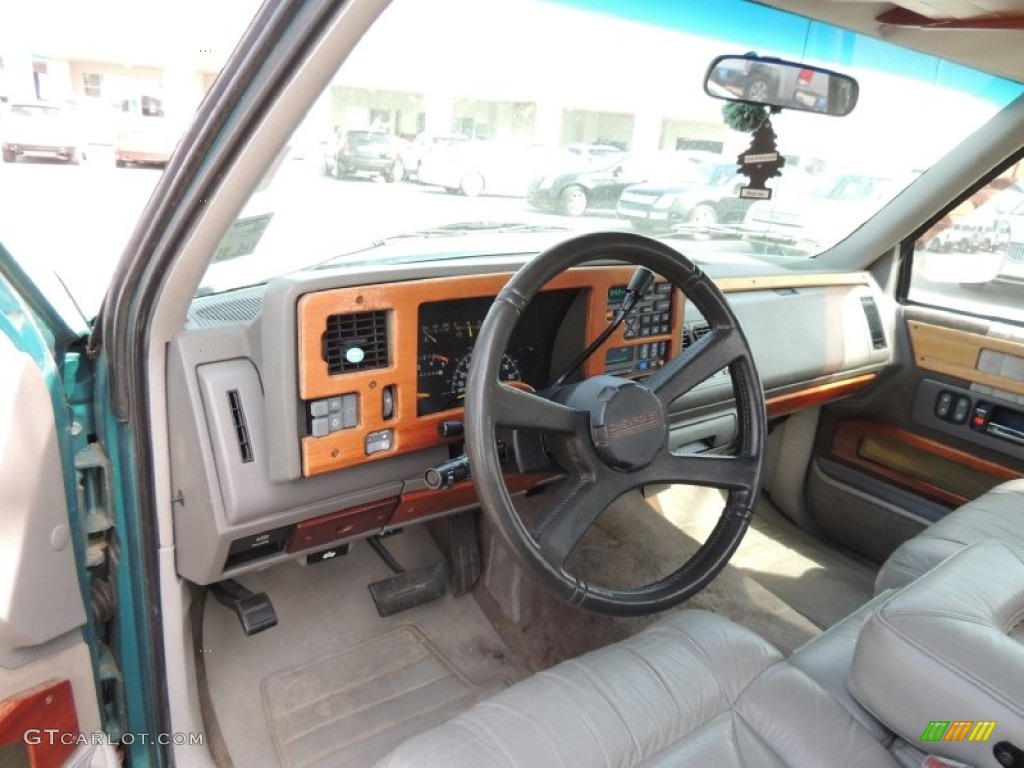 1994 bright teal metallic chevrolet c k c1500 extended cab 78122346 photo 8. Black Bedroom Furniture Sets. Home Design Ideas