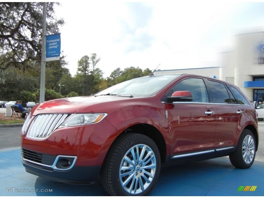 2013 ruby red tinted tri coat lincoln mkx fwd 78121884 car color galleries. Black Bedroom Furniture Sets. Home Design Ideas