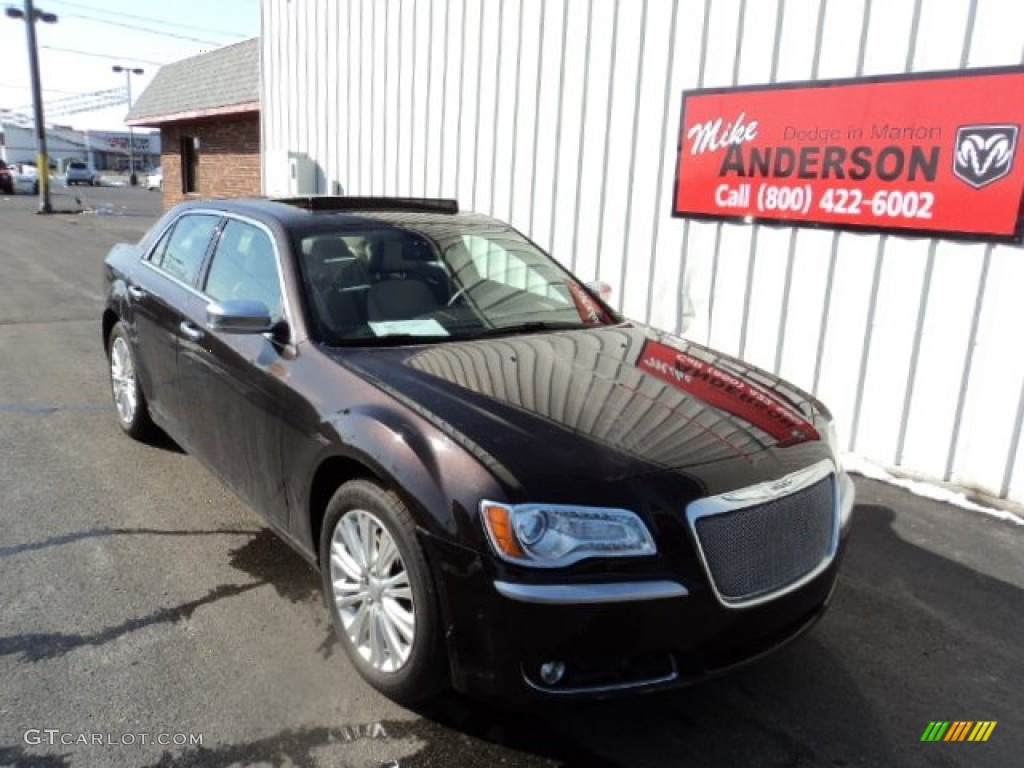 2012 Luxury Brown Pearl Chrysler 300 Limited #78122448 ...