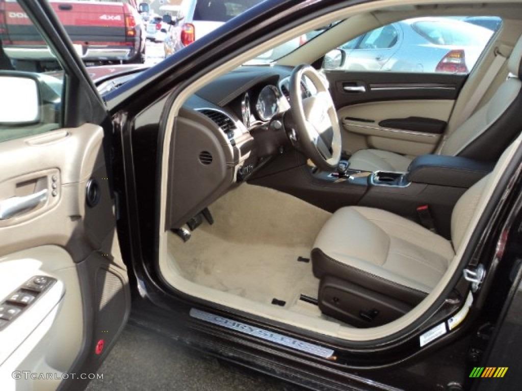 Dark Frost Beige Light Frost Beige Interior 2012 Chrysler 300 Limited Photo 78137703