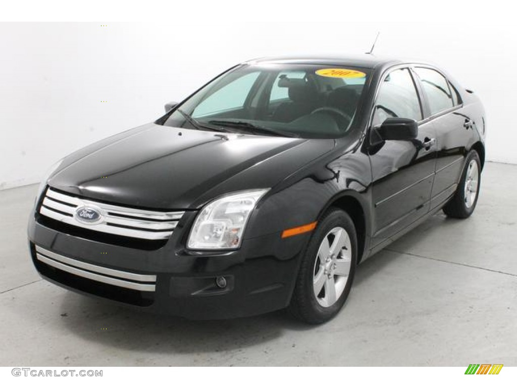 black 2007 ford fusion se v6 awd exterior photo 78147459. Black Bedroom Furniture Sets. Home Design Ideas