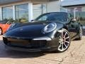 Black 2012 Porsche New 911 Carrera S Coupe