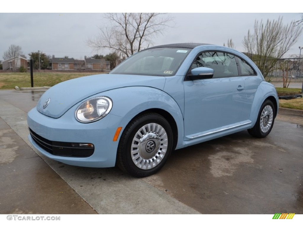 denim blue 2013 volkswagen beetle 2 5l exterior photo. Black Bedroom Furniture Sets. Home Design Ideas