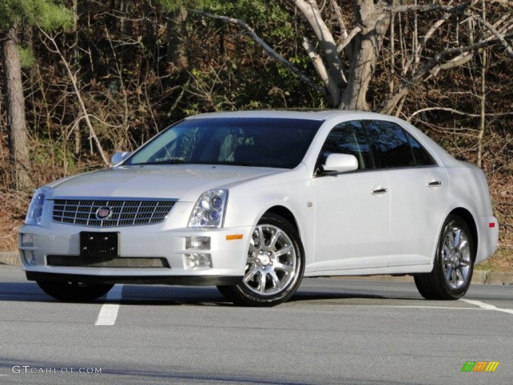 light platinum 2007 cadillac sts v8 exterior photo. Black Bedroom Furniture Sets. Home Design Ideas