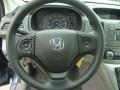 2013 Twilight Blue Metallic Honda CR-V LX AWD  photo #17
