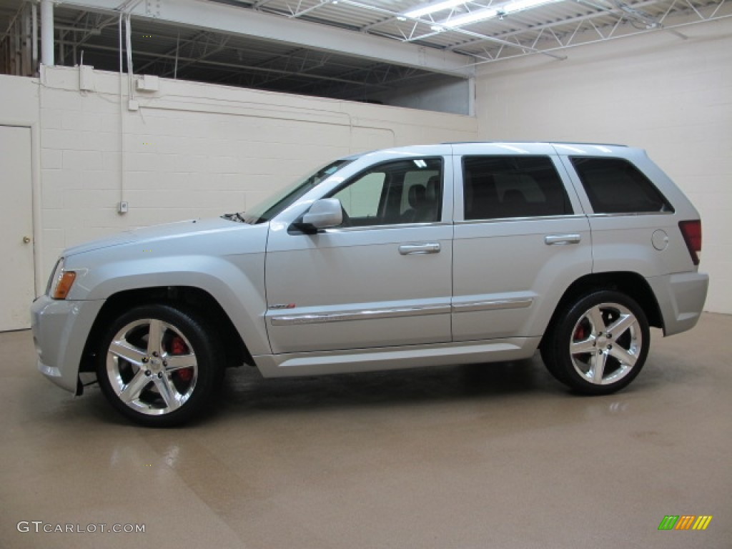 Bright Silver Metallic 2010 Jeep Grand Cherokee Srt8 4x4