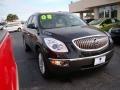 2008 Carbon Black Metallic Buick Enclave CXL  photo #2