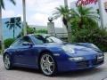 2007 Cobalt Blue Metallic Porsche 911 Carrera S Coupe  photo #1