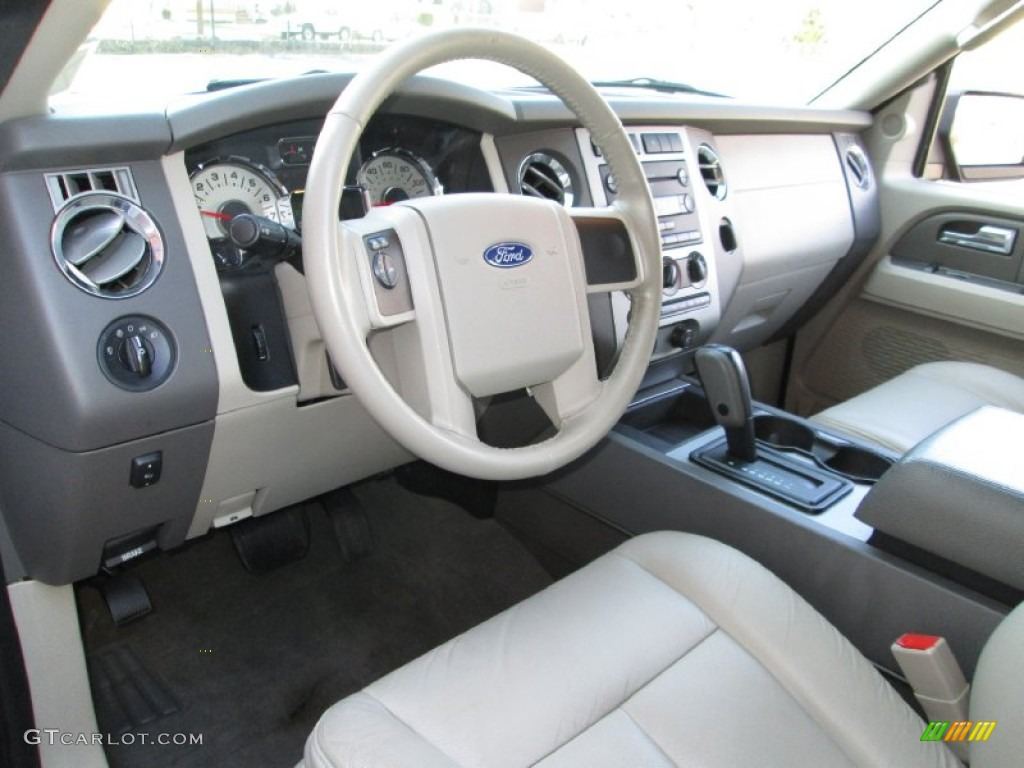 Stone Interior 2007 Ford Expedition El Xlt 4x4 Photo 78187482