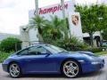 2007 Cobalt Blue Metallic Porsche 911 Carrera S Coupe  photo #2