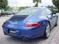 2007 Cobalt Blue Metallic Porsche 911 Carrera S Coupe  photo #3