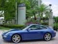 2007 Cobalt Blue Metallic Porsche 911 Carrera S Coupe  photo #6