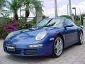 2007 Cobalt Blue Metallic Porsche 911 Carrera S Coupe  photo #7