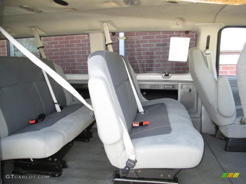 2008 Ford E Series Van E350 Super Duty Xlt 15 Passenger Interior Color Photos