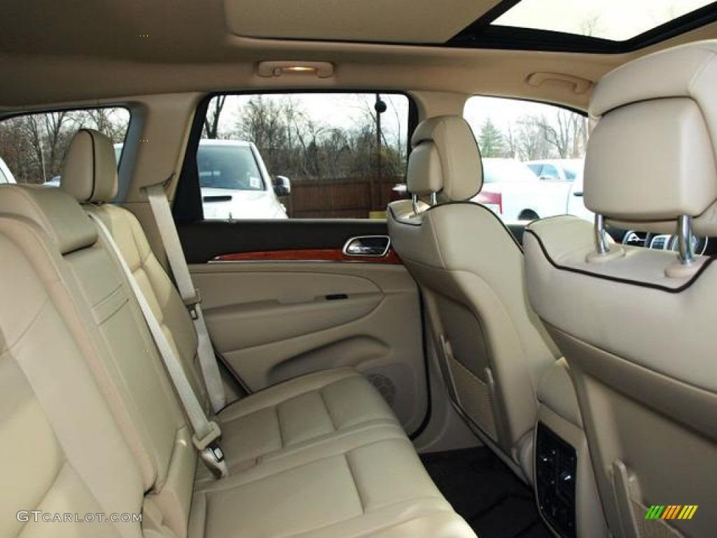 2013 jeep grand cherokee overland 4x4 interior color photos