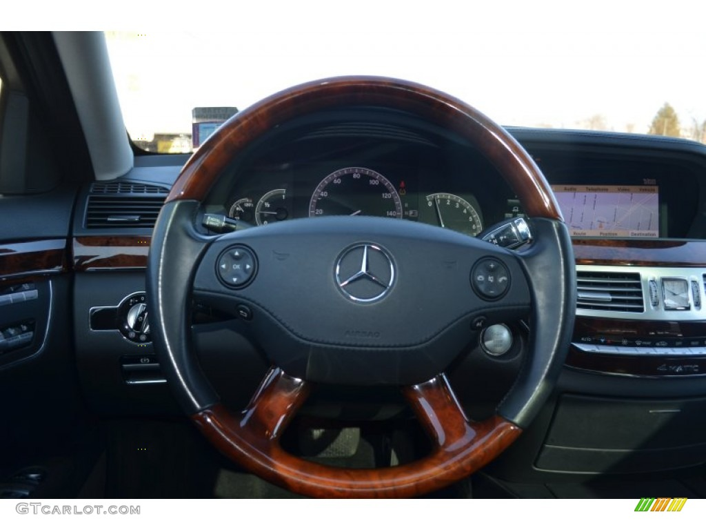 2008 mercedes benz s 550 4matic sedan steering wheel for Mercedes benz steering wheel control buttons