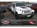 Bright White 2012 Jeep Wrangler Unlimited Sahara Arctic Edition 4x4